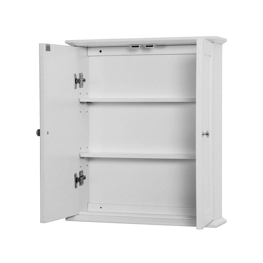Bathroom Wall Cabinet White 18 Wide