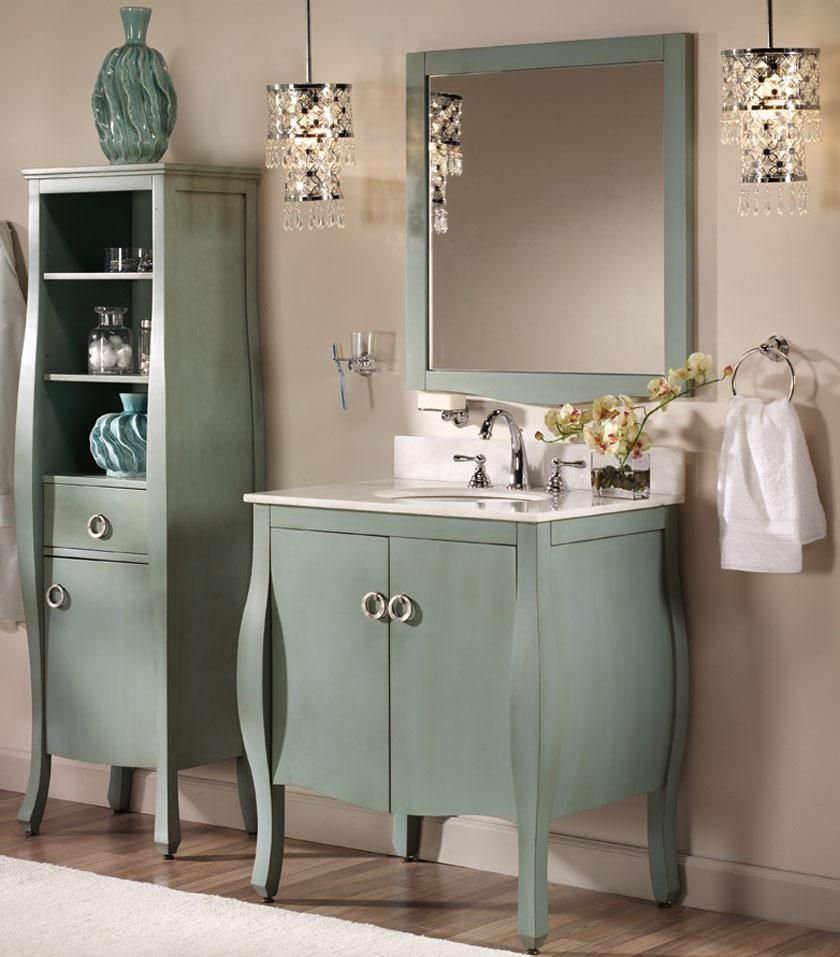 Free Standing Bathroom Cabinets The Range