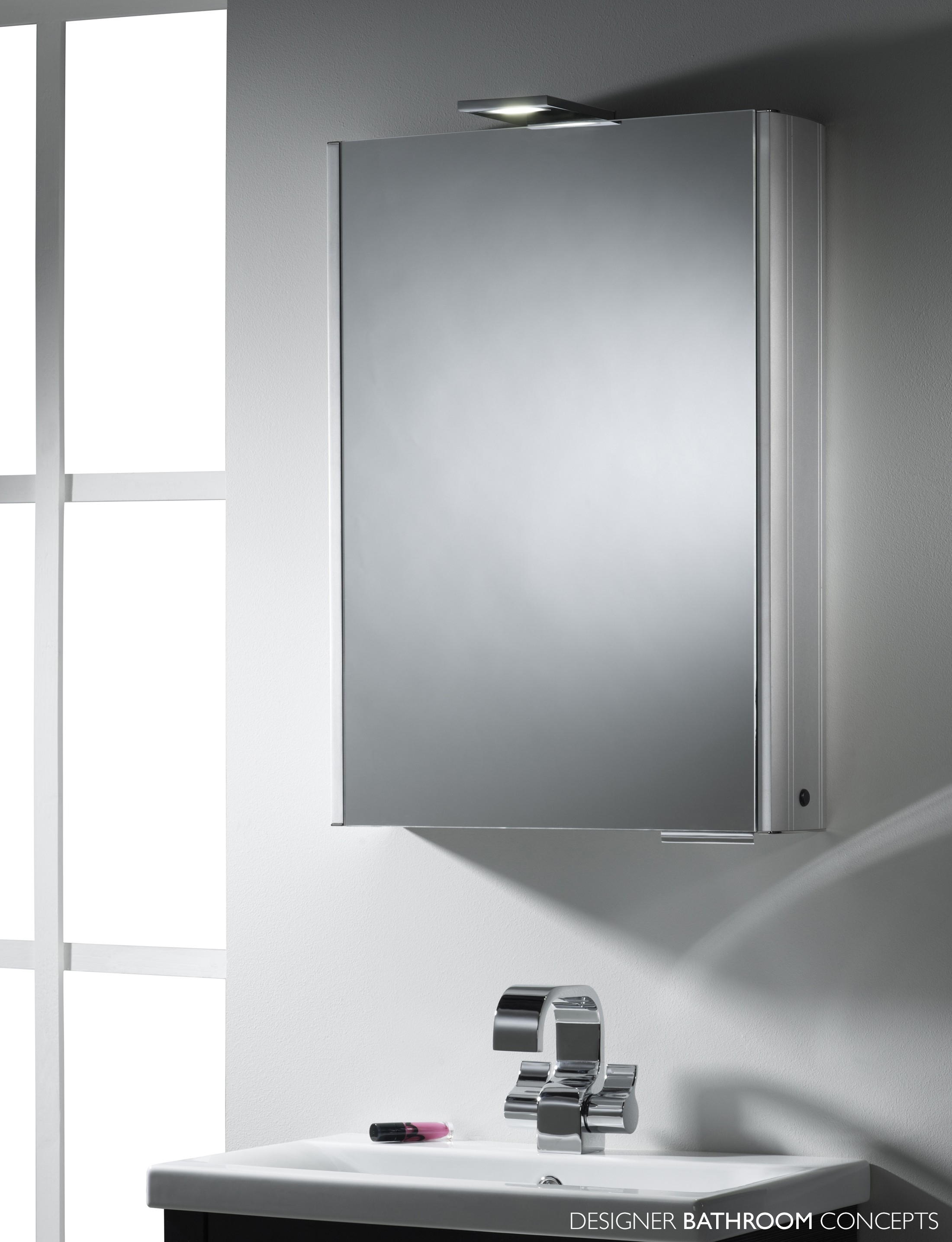 Illuminated Bathroom Mirror Cabinets With Demister