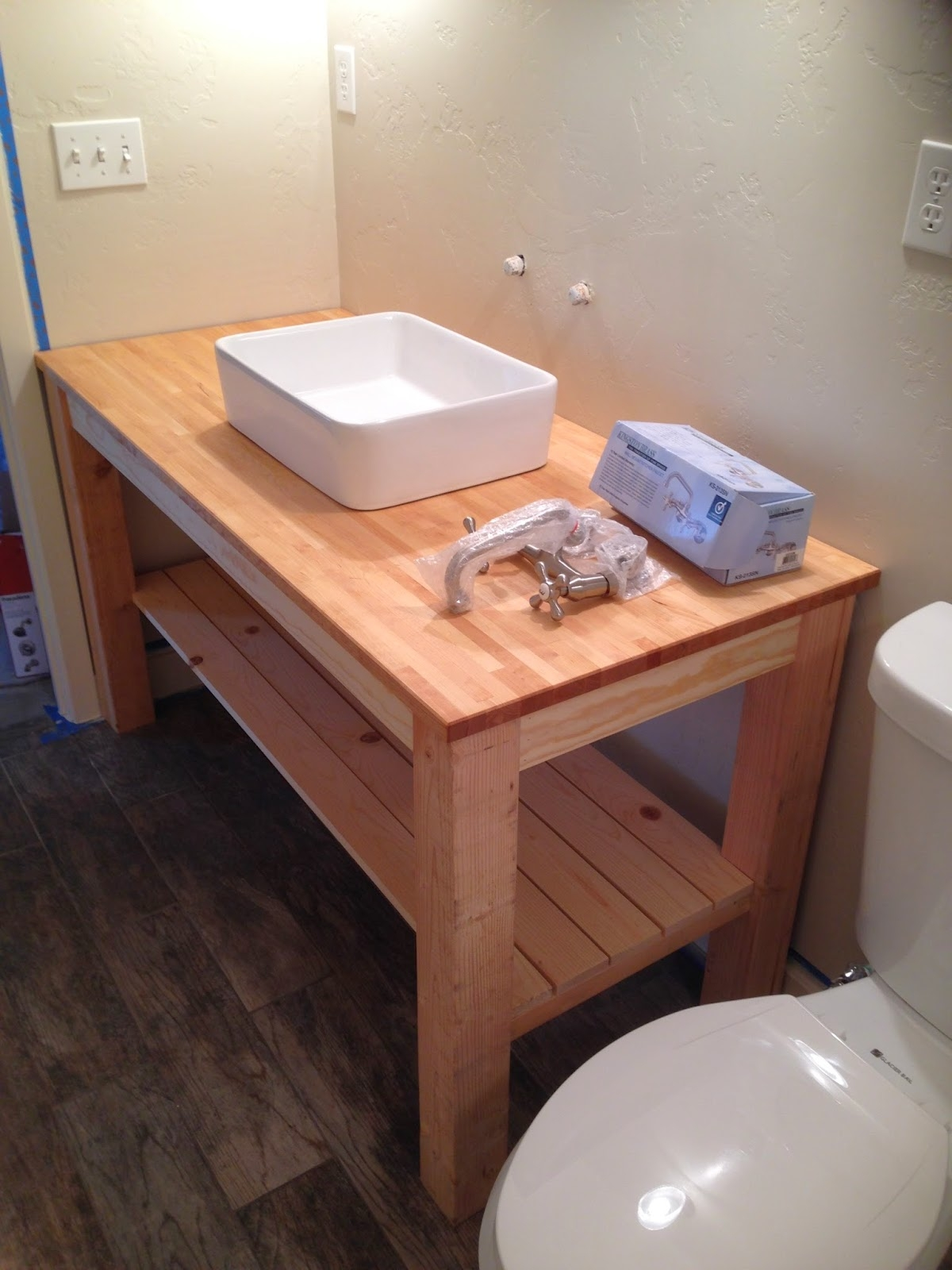 Making Your Own Bathroom Vanity