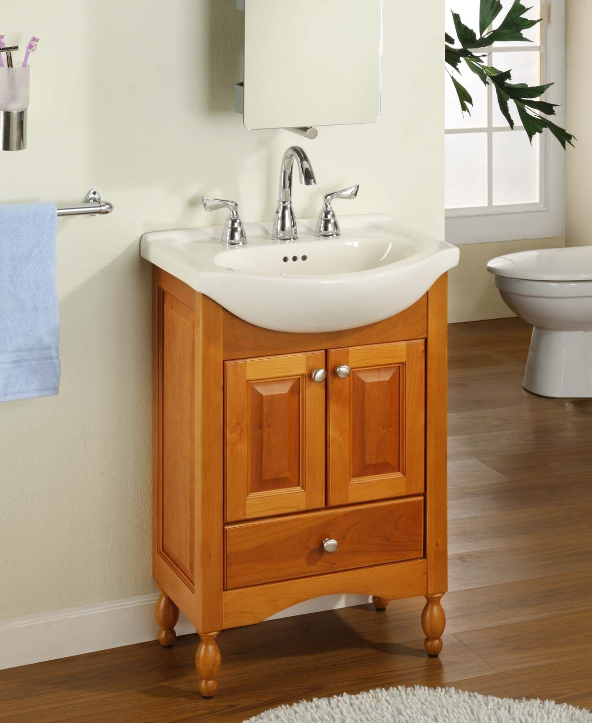 Narrow Bathroom Base Cabinet