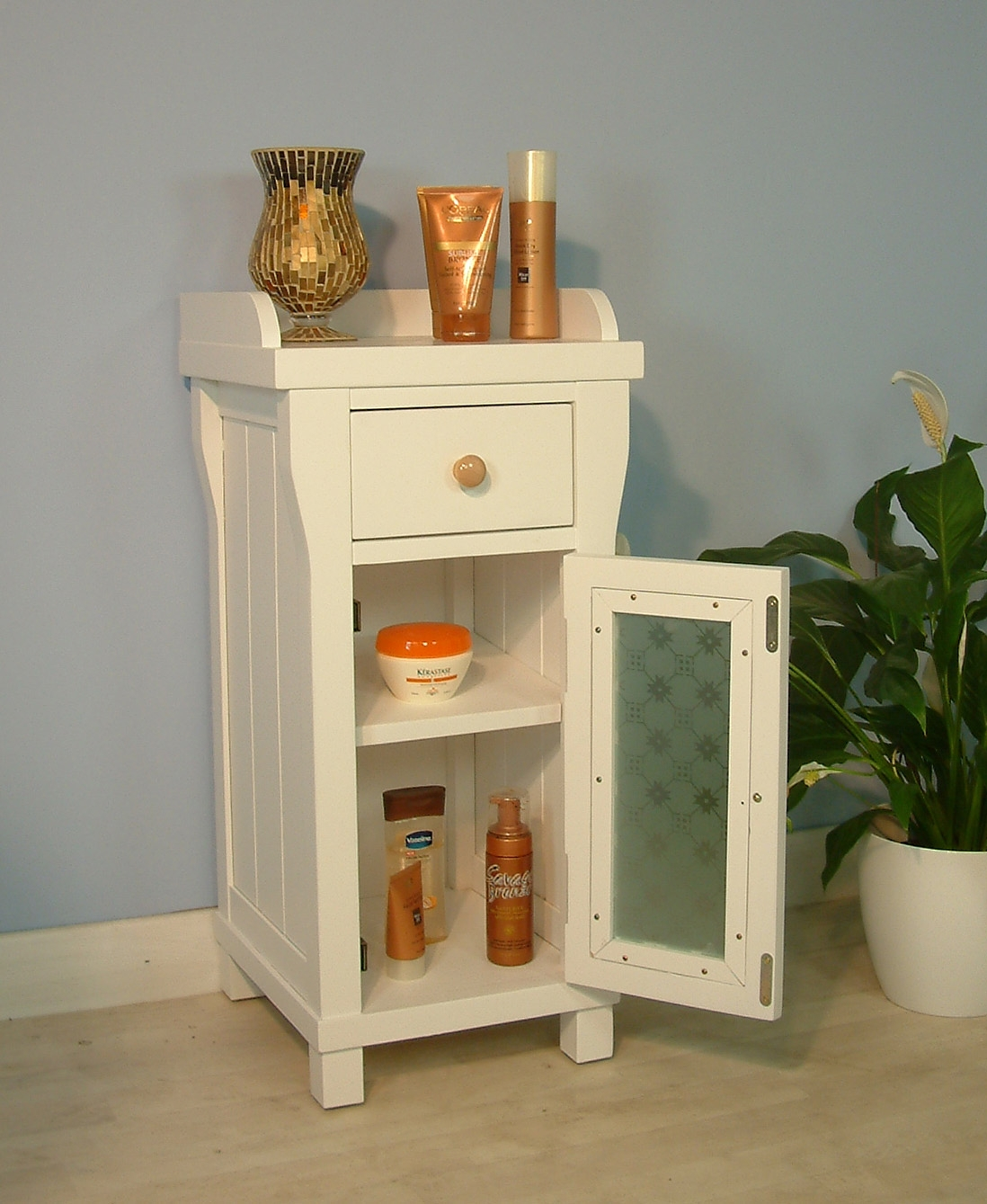Narrow Bathroom Storage Drawers