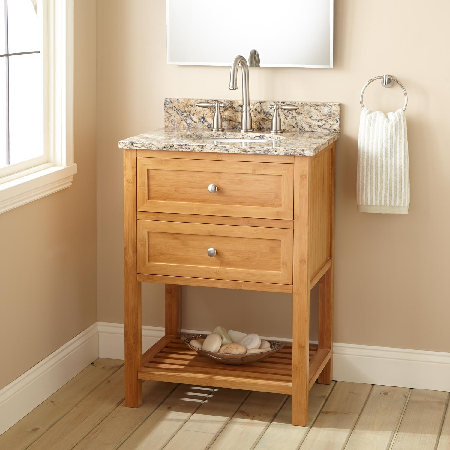 Narrow Depth Bathroom Vanity Sink