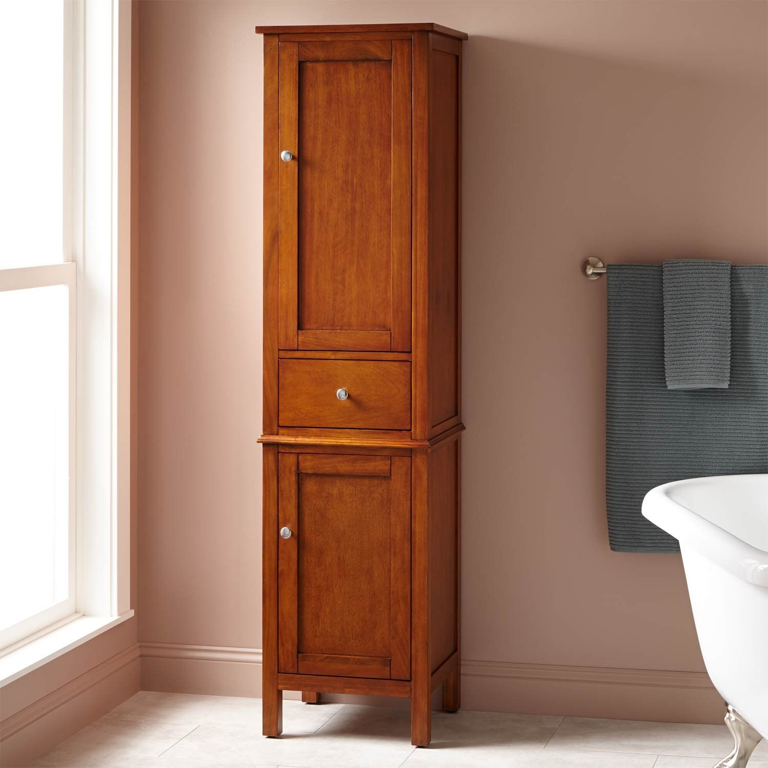 Recessed Bathroom Linen Cabinets