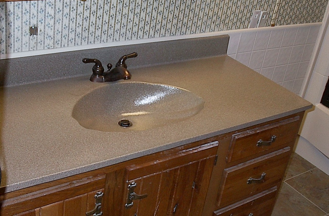 Resurface Bathroom Vanity Countertop