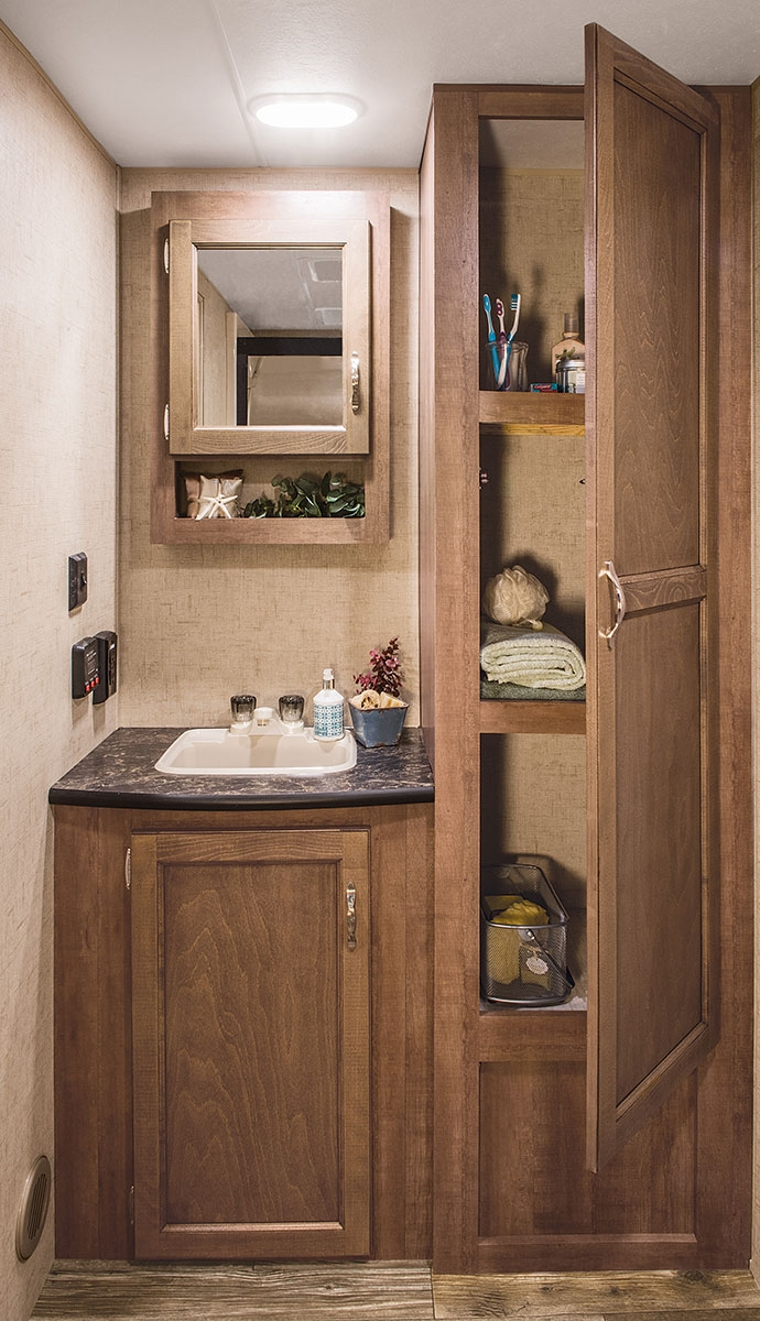 Rv Bathroom Cabinets