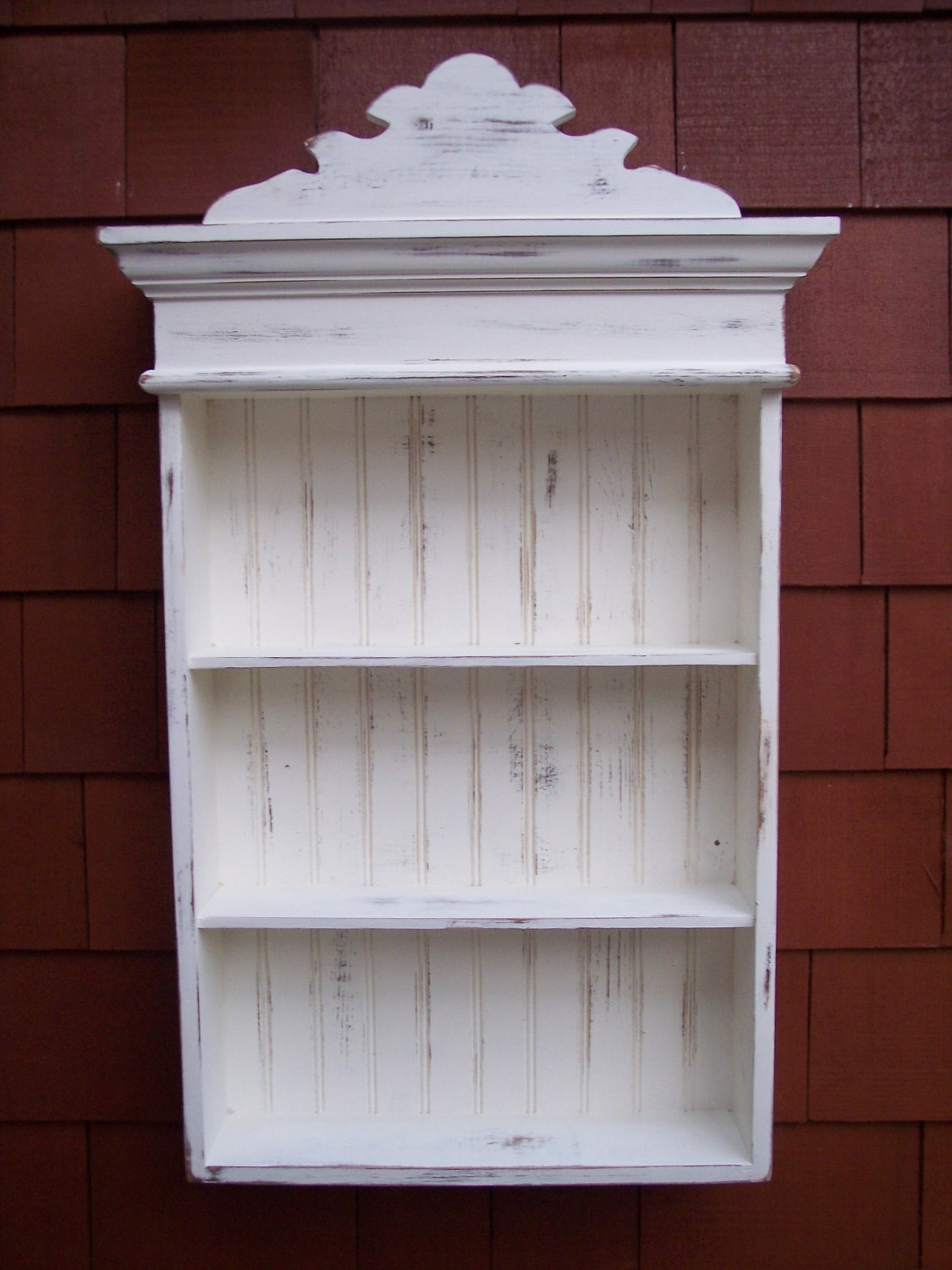 Permalink to Shabby Chic Bathroom Cabinets Wall