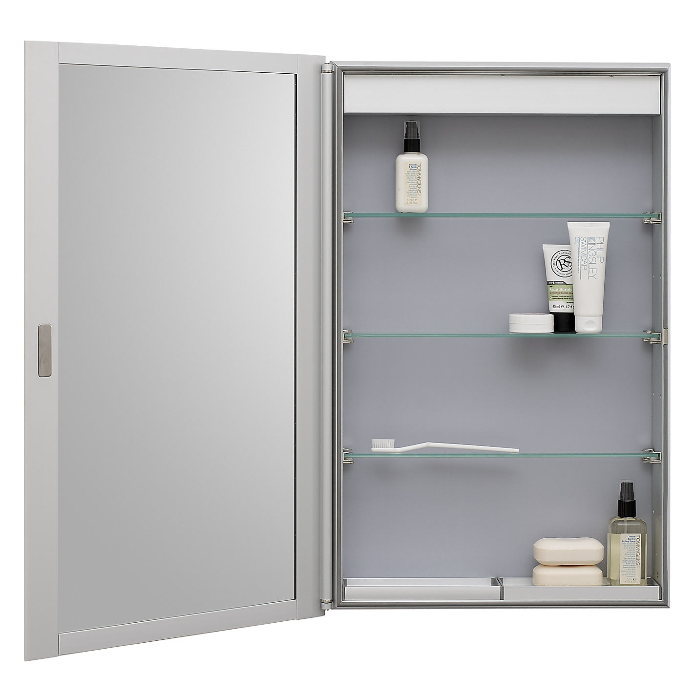 Shallow Bathroom Mirror Cabinet