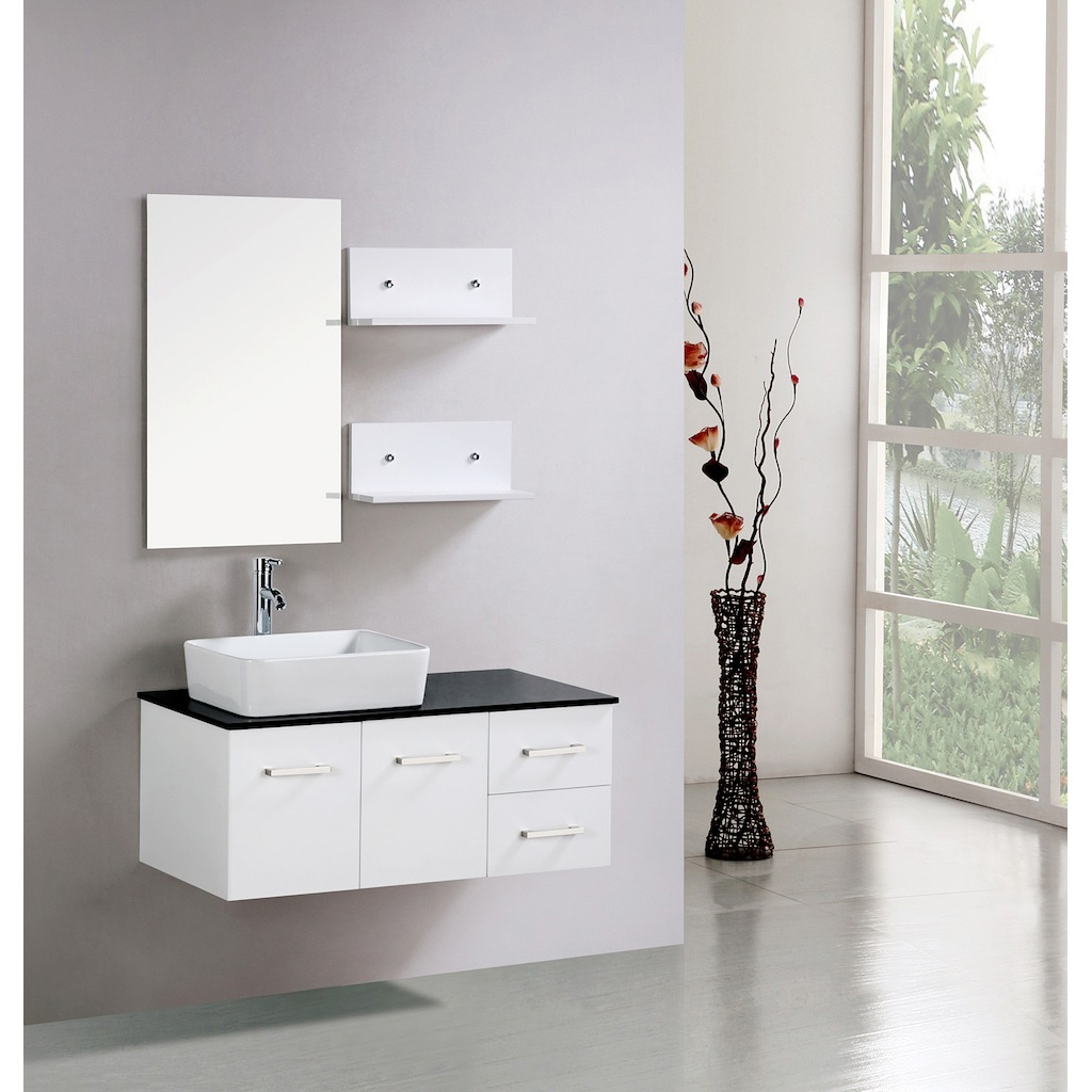 Shallow Wall Mounted Bathroom Cabinet