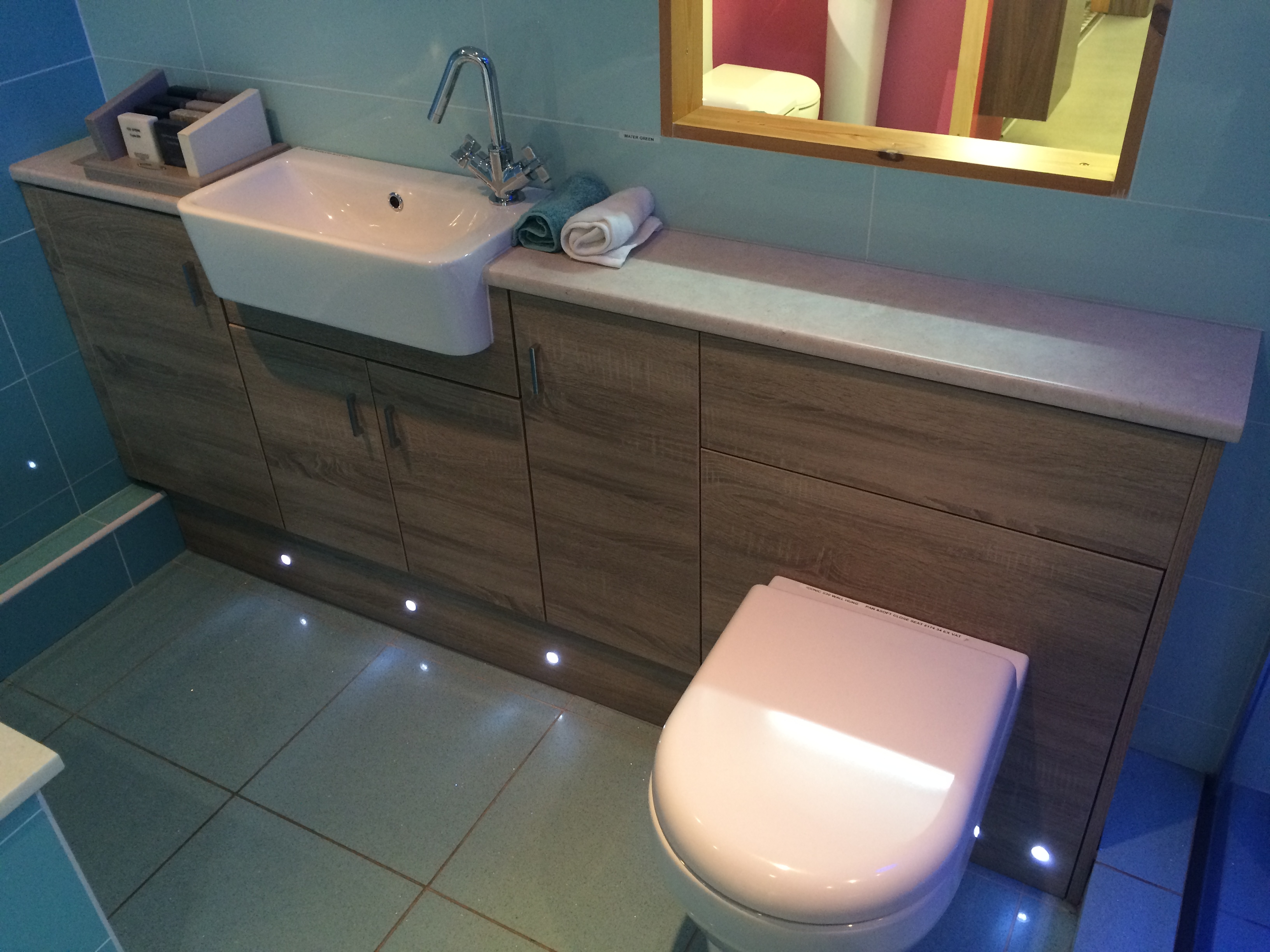 Slim Bathroom Fitted Furniture