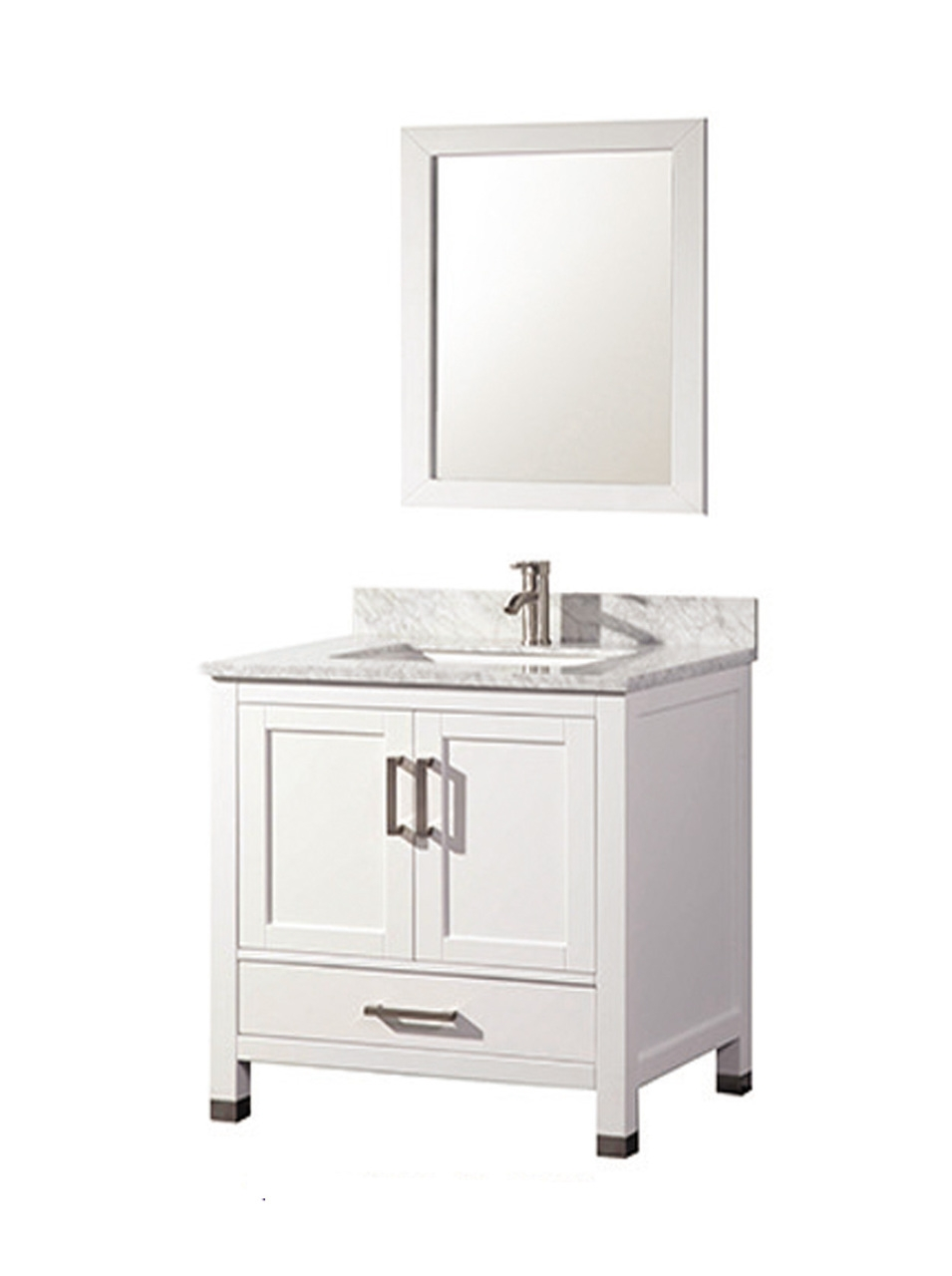 Solid Wood Bathroom Vanity 30