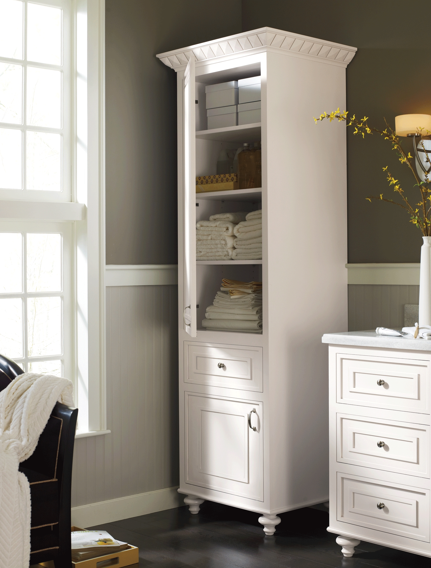 Stand Alone Cabinet For Bathroom