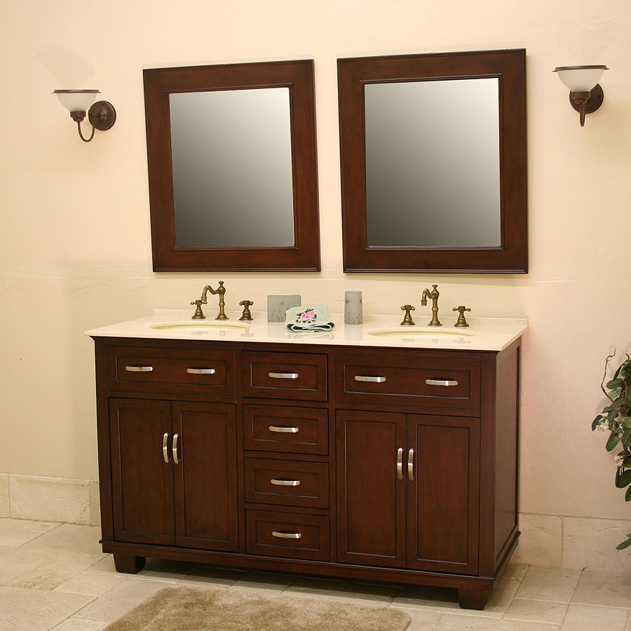 Stock Bathroom Cabinets Lowes