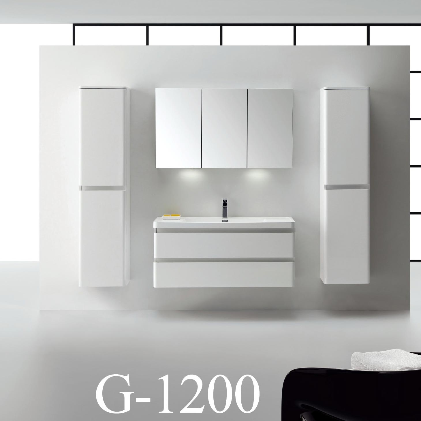 Wall Mounted Bathroom Vanity 48