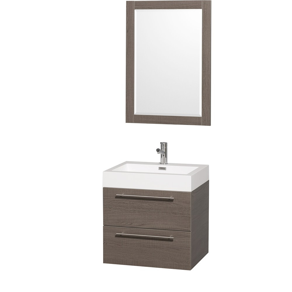 Wall Mounted Bathroom Vanity With Drawers