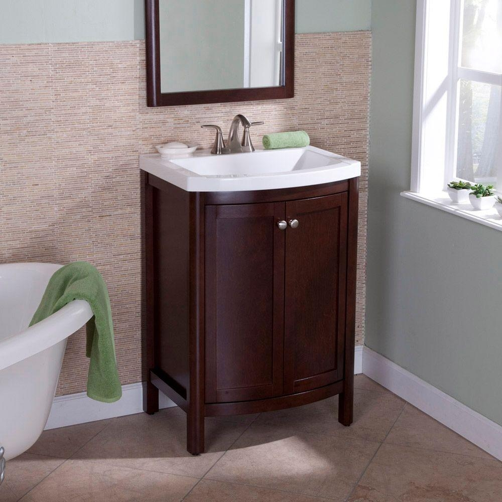 Permalink to 24 Inch Bathroom Vanities At Home Depot