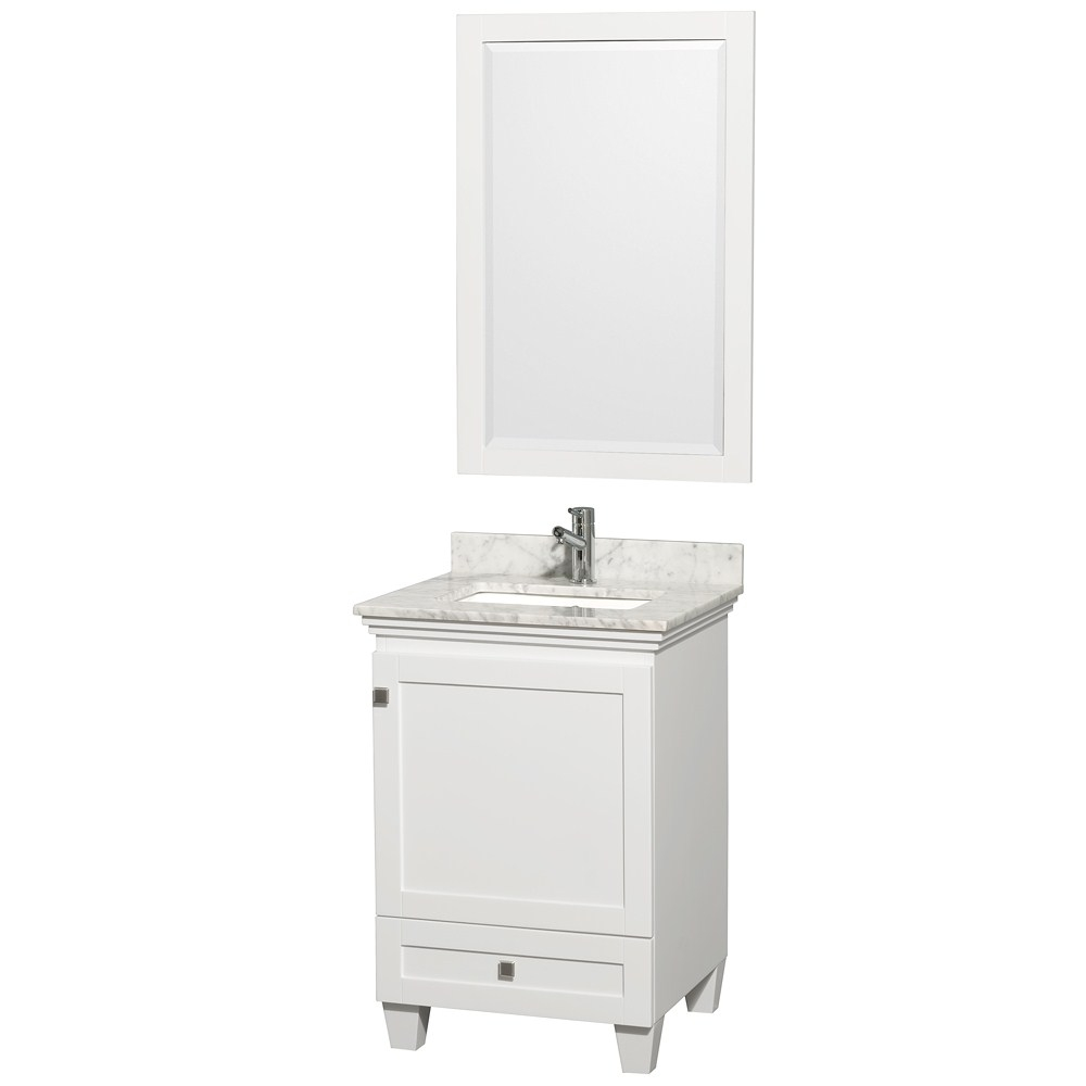 24 Inch Bathroom Vanities In White