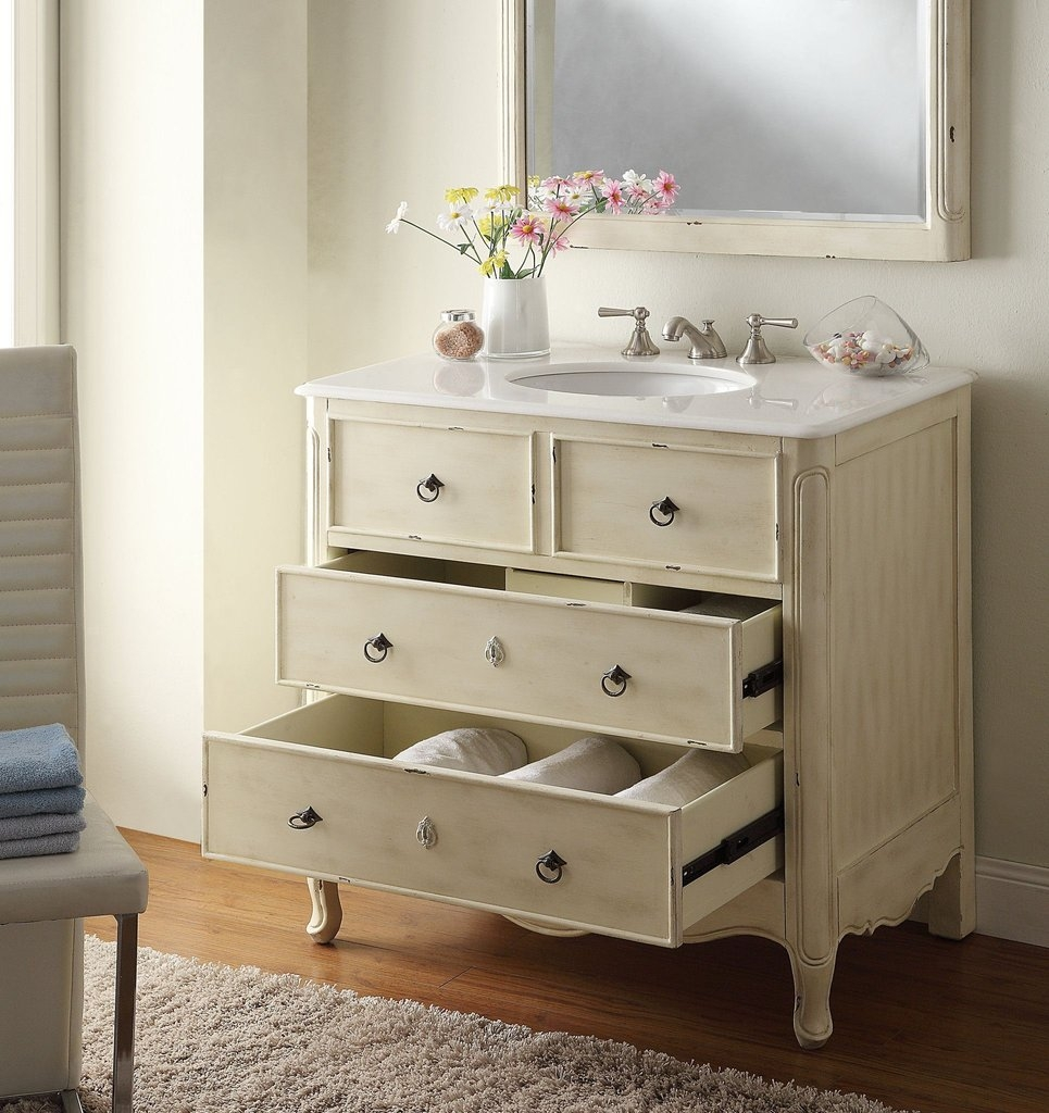 34 Bathroom Vanity Cabinets
