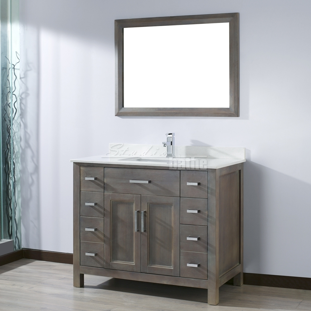 42 Inch Vanity For Bathroom