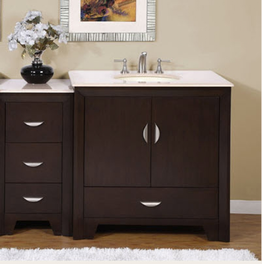 54 Inch Bathroom Vanity With Top