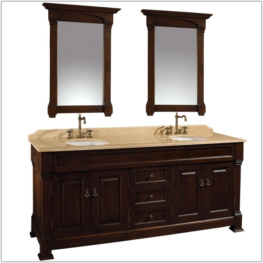 Permalink to 72 Bathroom Vanity Cabinet Only