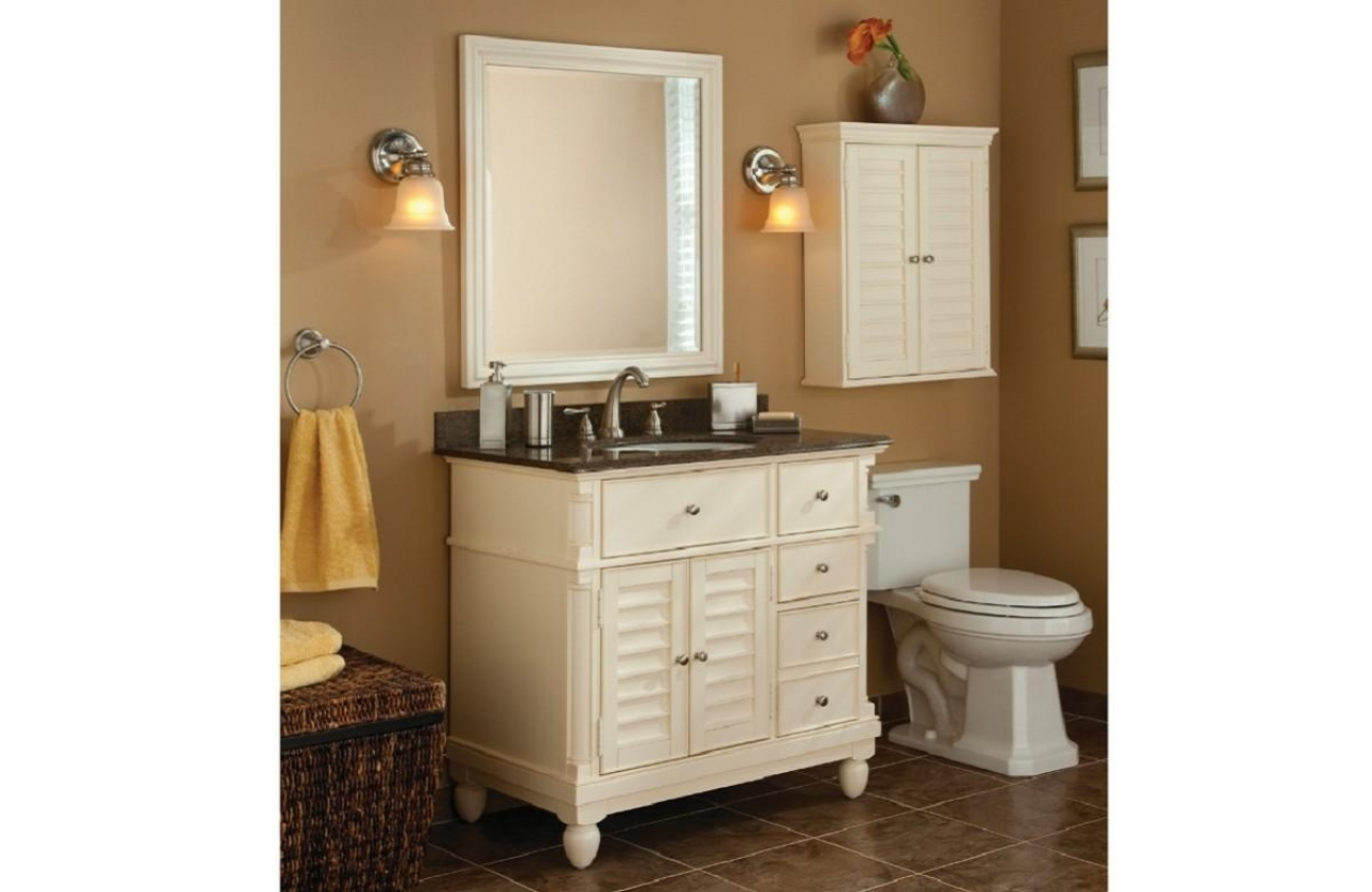 Permalink to Allen And Roth Bathroom Cabinets