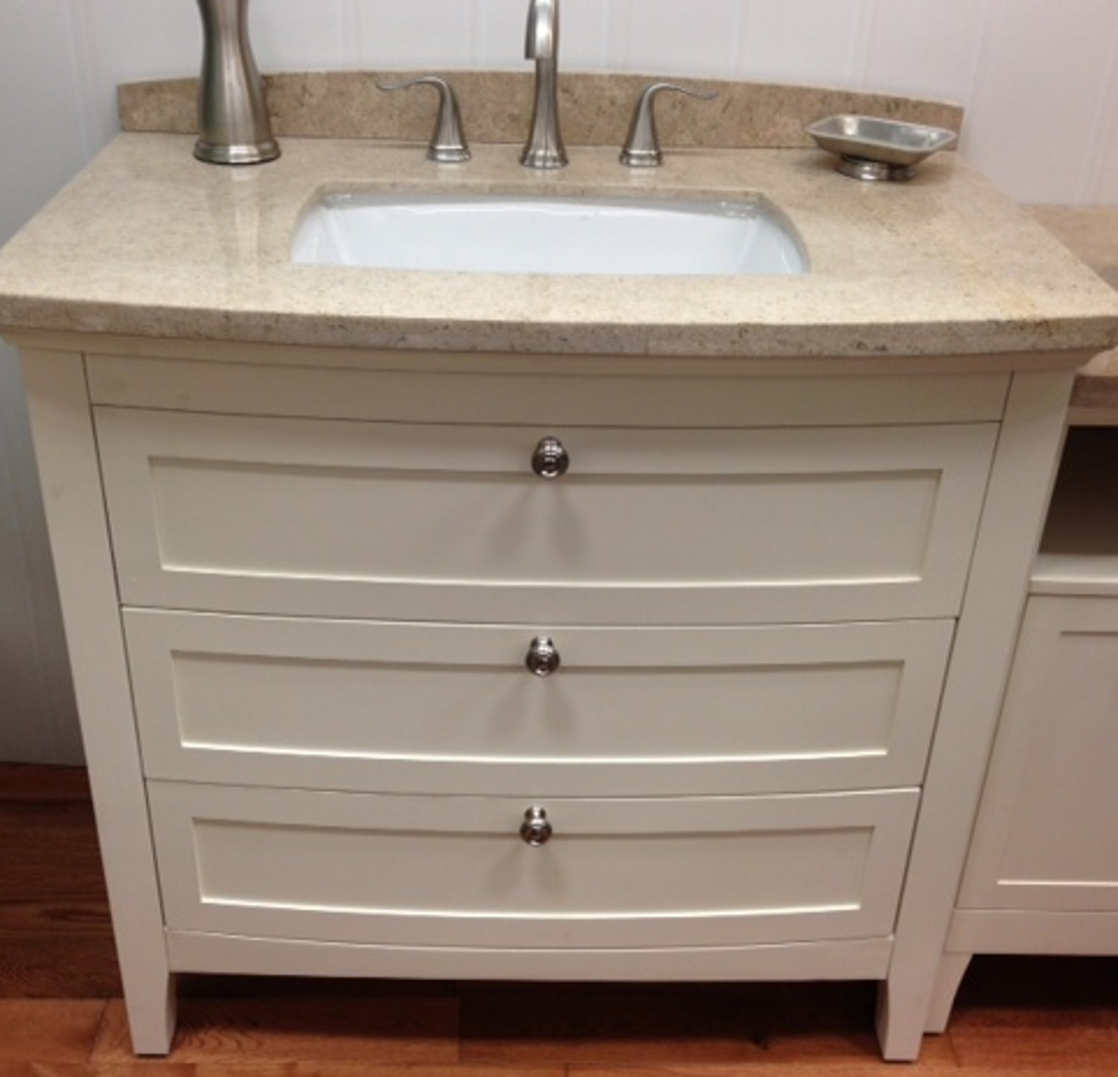 Allen And Roth Bathroom Vanity White
