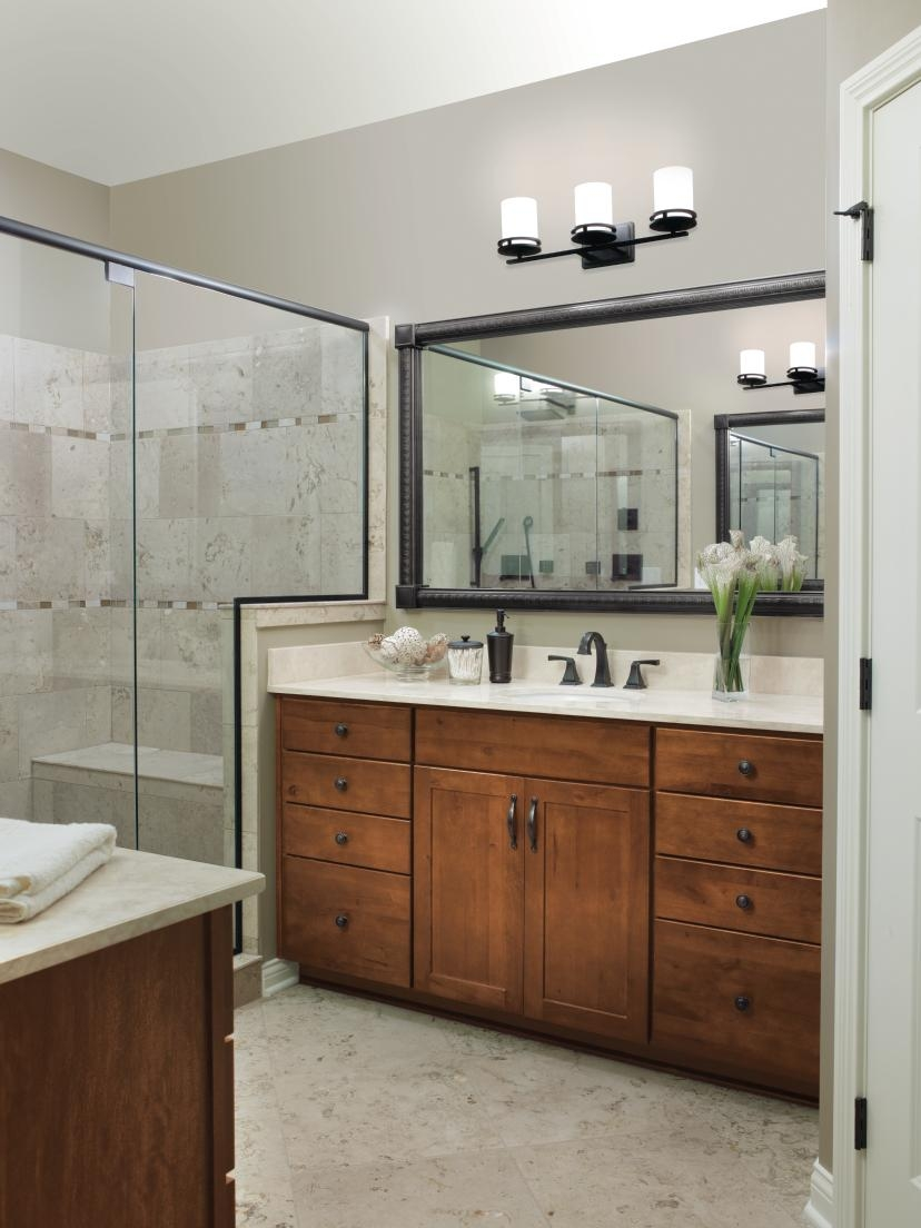 Aristokraft Bathroom Cabinet Doorsaristokrafts harrison cabinets in a saddle finish brings a