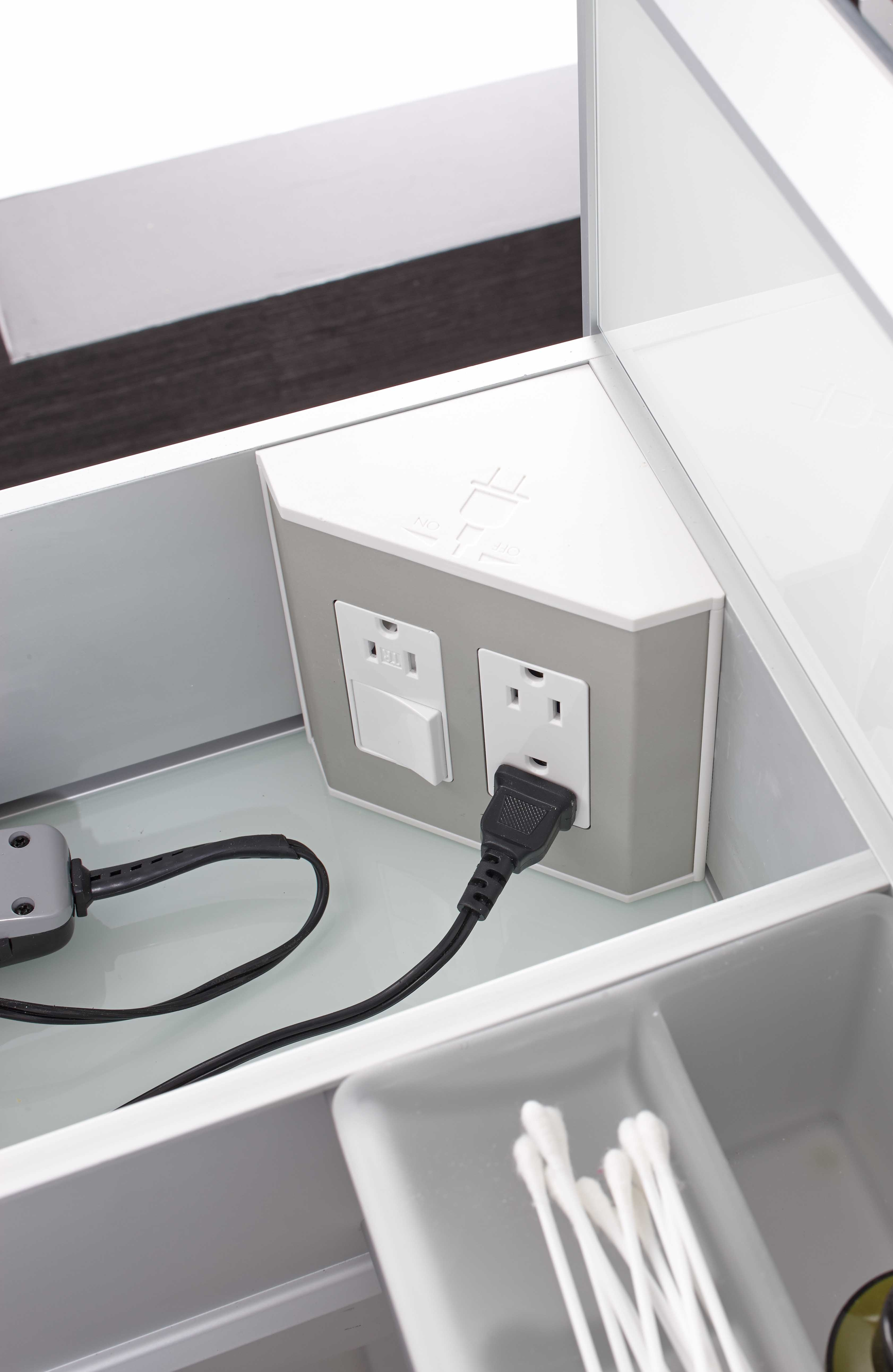 Bathroom Cabinets With Power Socket