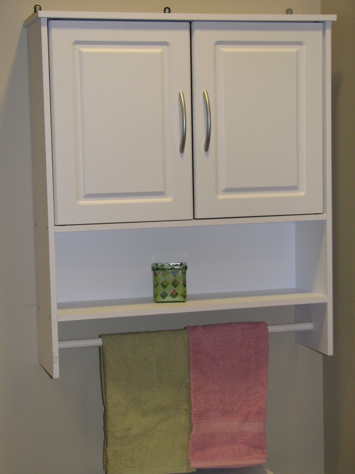 Permalink to Bathroom Cabinets With Towel Bar