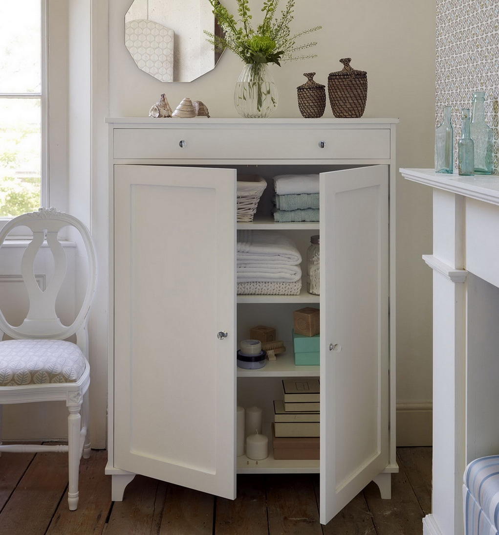 Permalink to Bathroom Storage Cabinet For Towels
