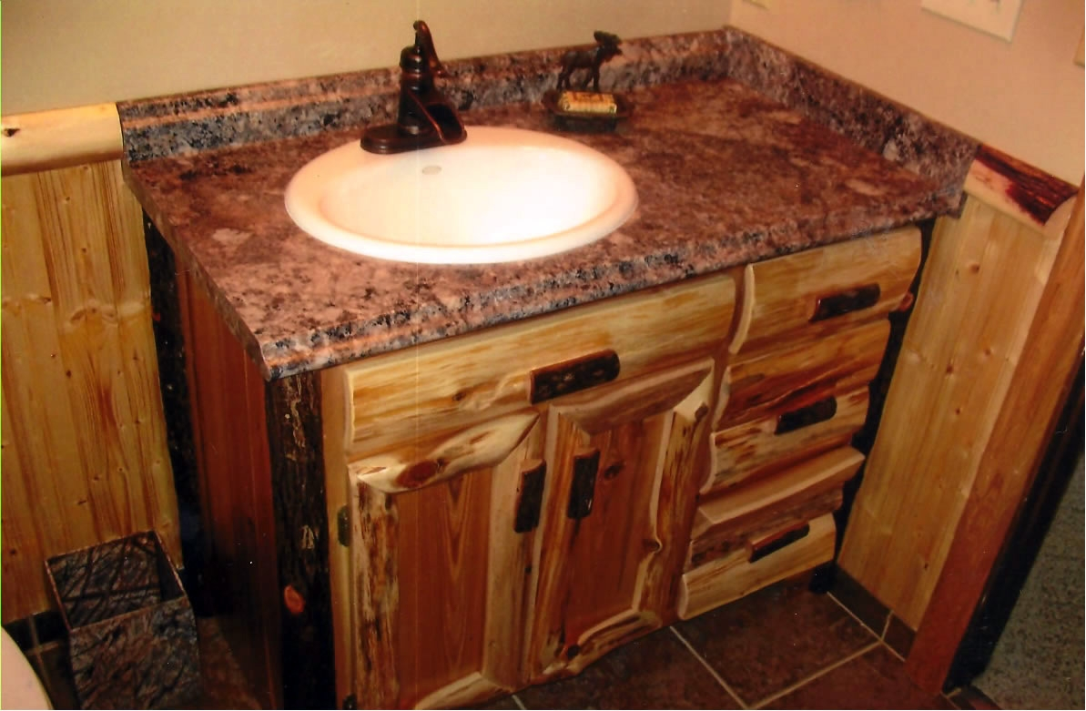 Bathroom Vanity Cabinets Hickory