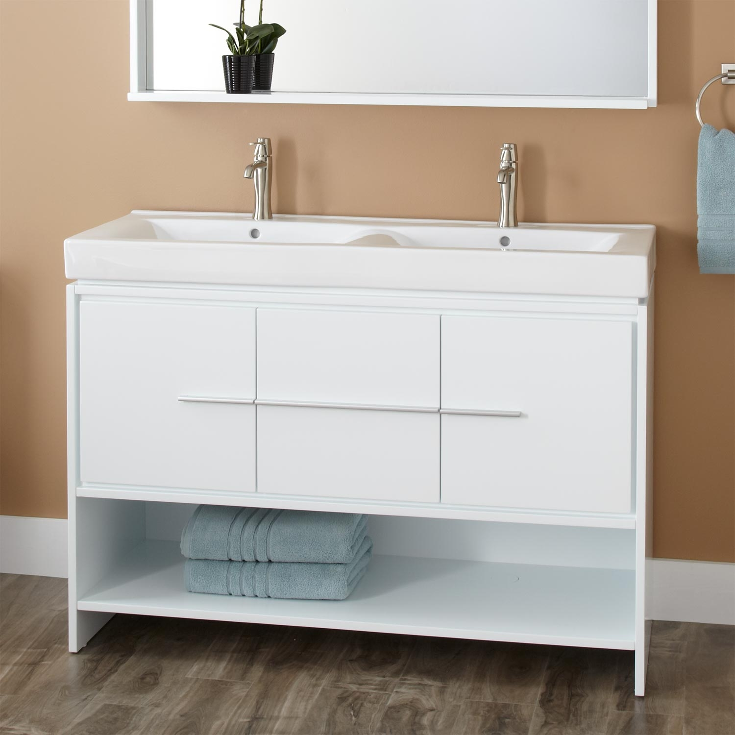 Bathroom Vanity Floor Cabinet