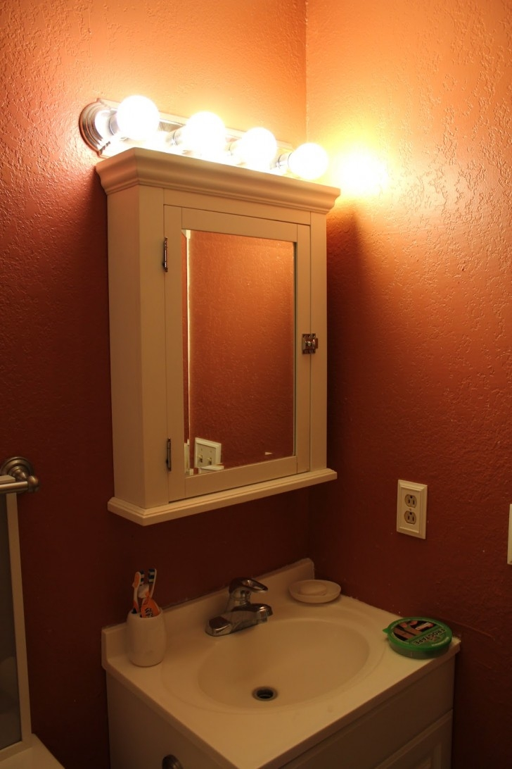 Bathroom Vanity Lights Over Medicine Cabinet728 X 1092