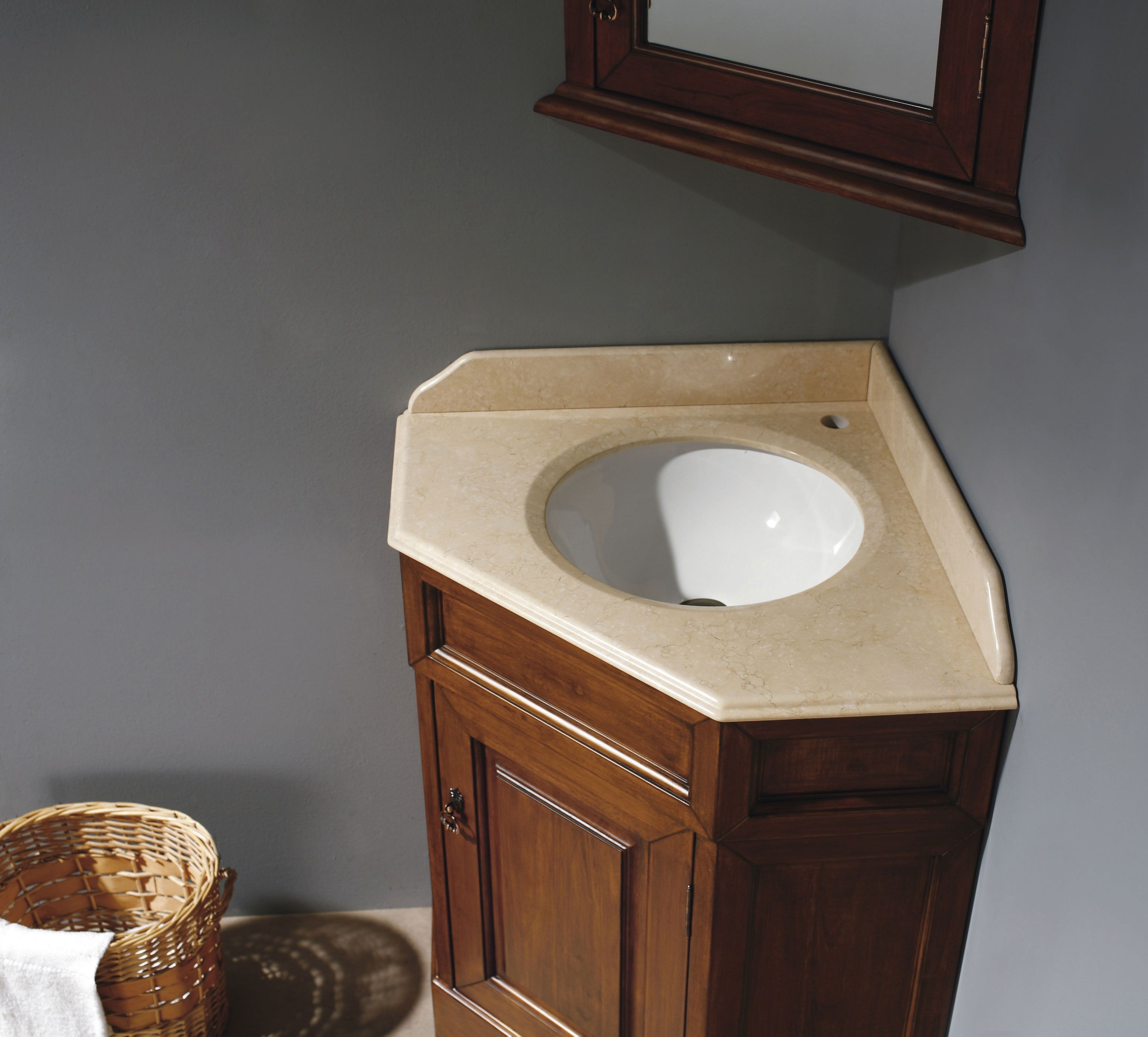Permalink to Corner Bathroom Vanity With 2 Sinks