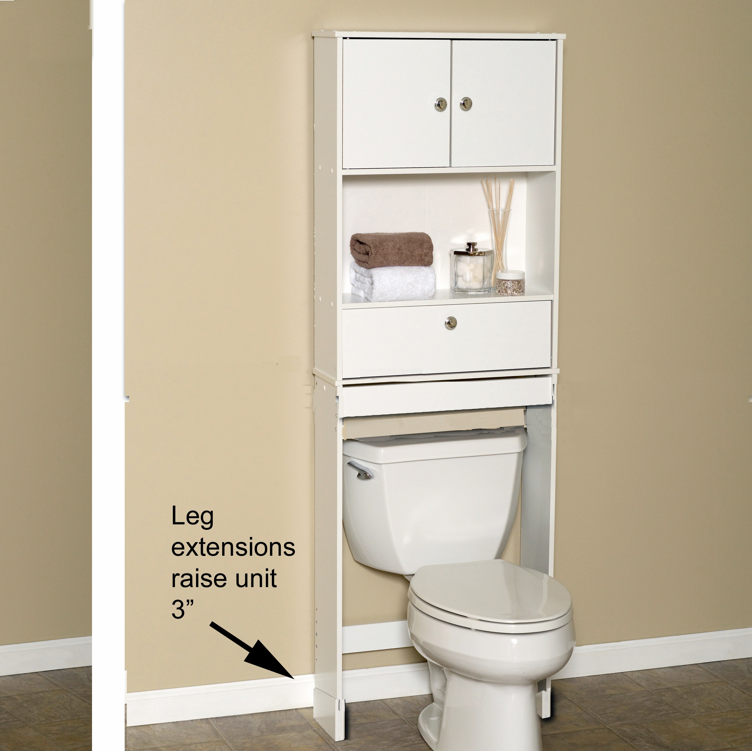 Fairmont Space Saver Bathroom Cabinet Assembly Instructions