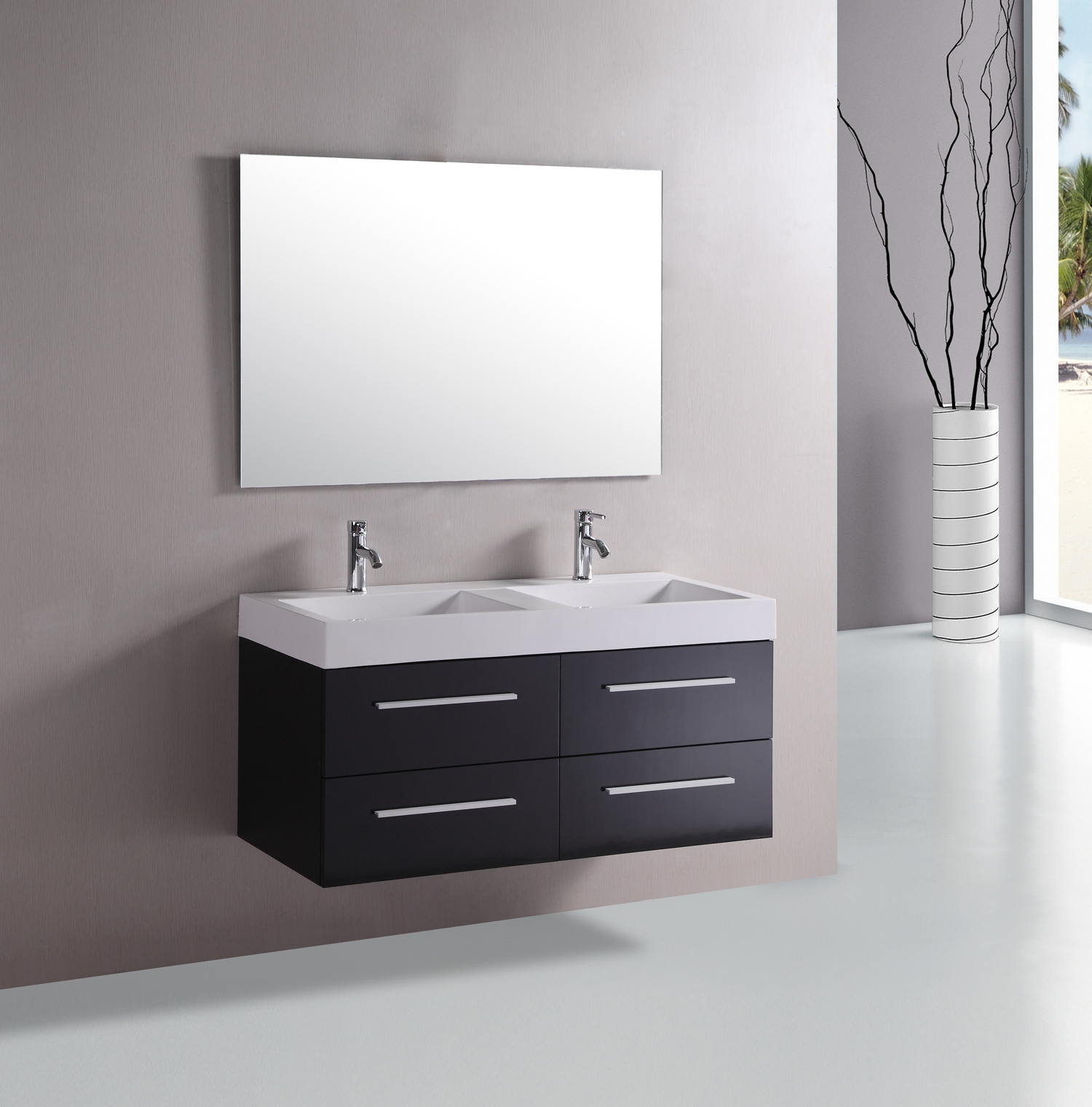 Floating Bathroom Vanity Without Sink
