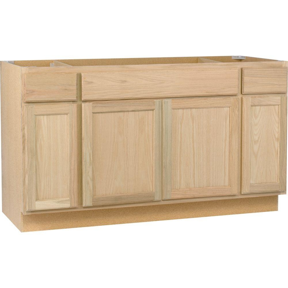 Home Depot Unfinished Bathroom Cabinets