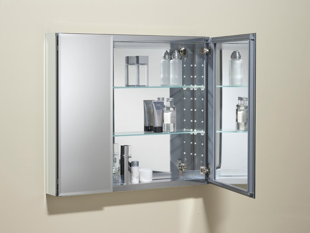 Locking Bathroom Medicine Cabinet