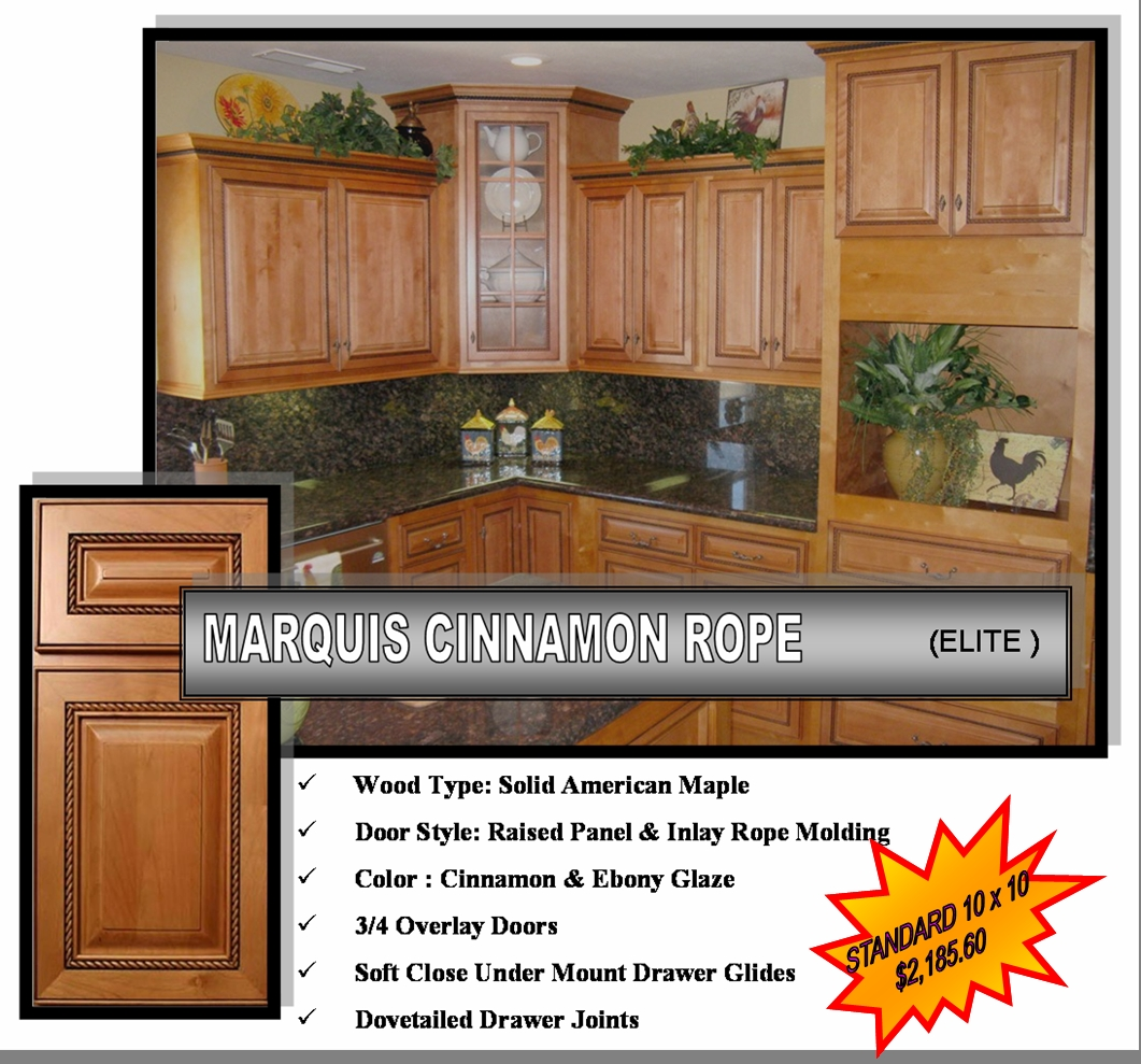 Marquis Cinnamon Maple Bathroom Wall Cabinet