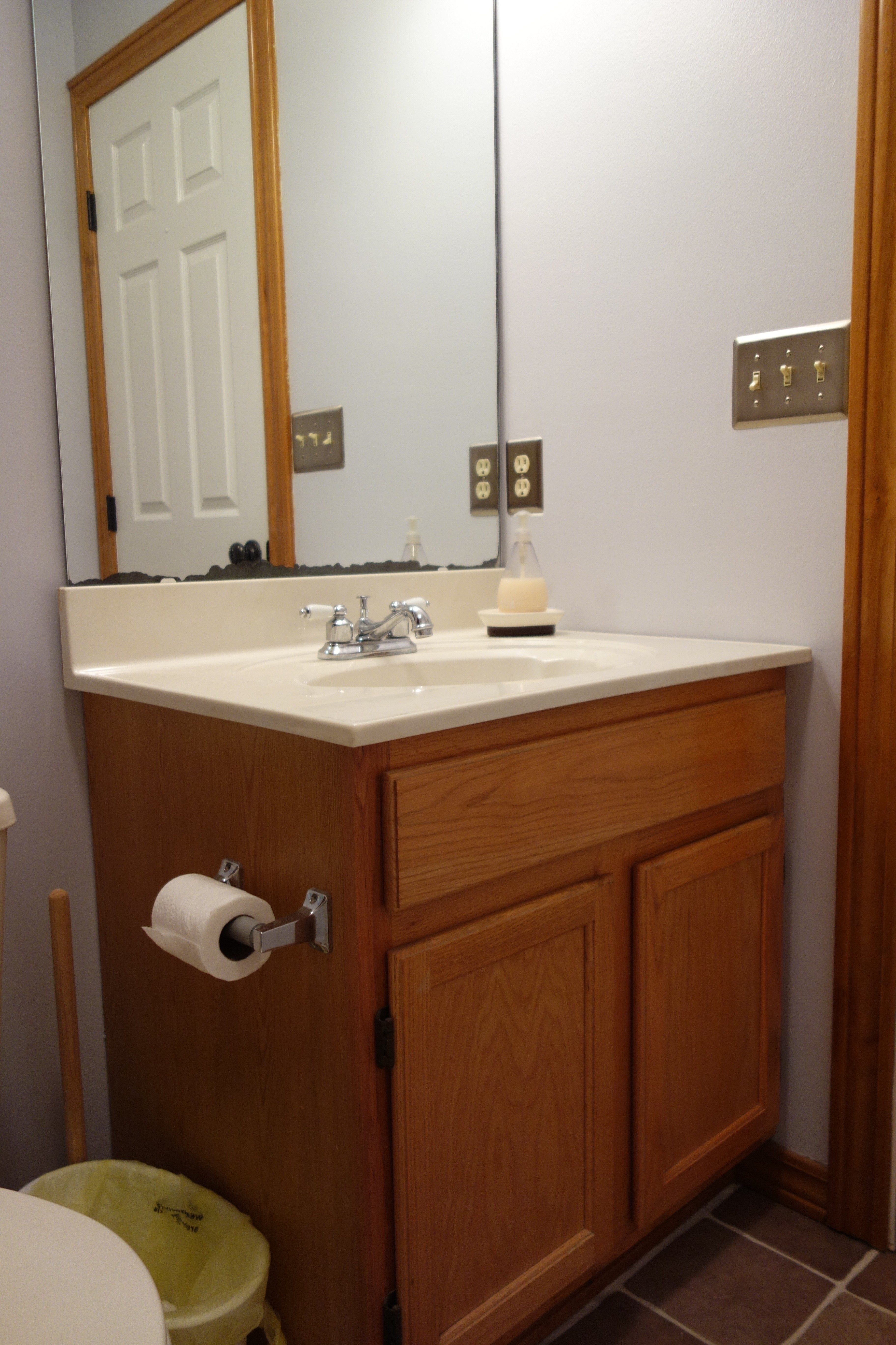 Permalink to Redoing A Bathroom Cabinet
