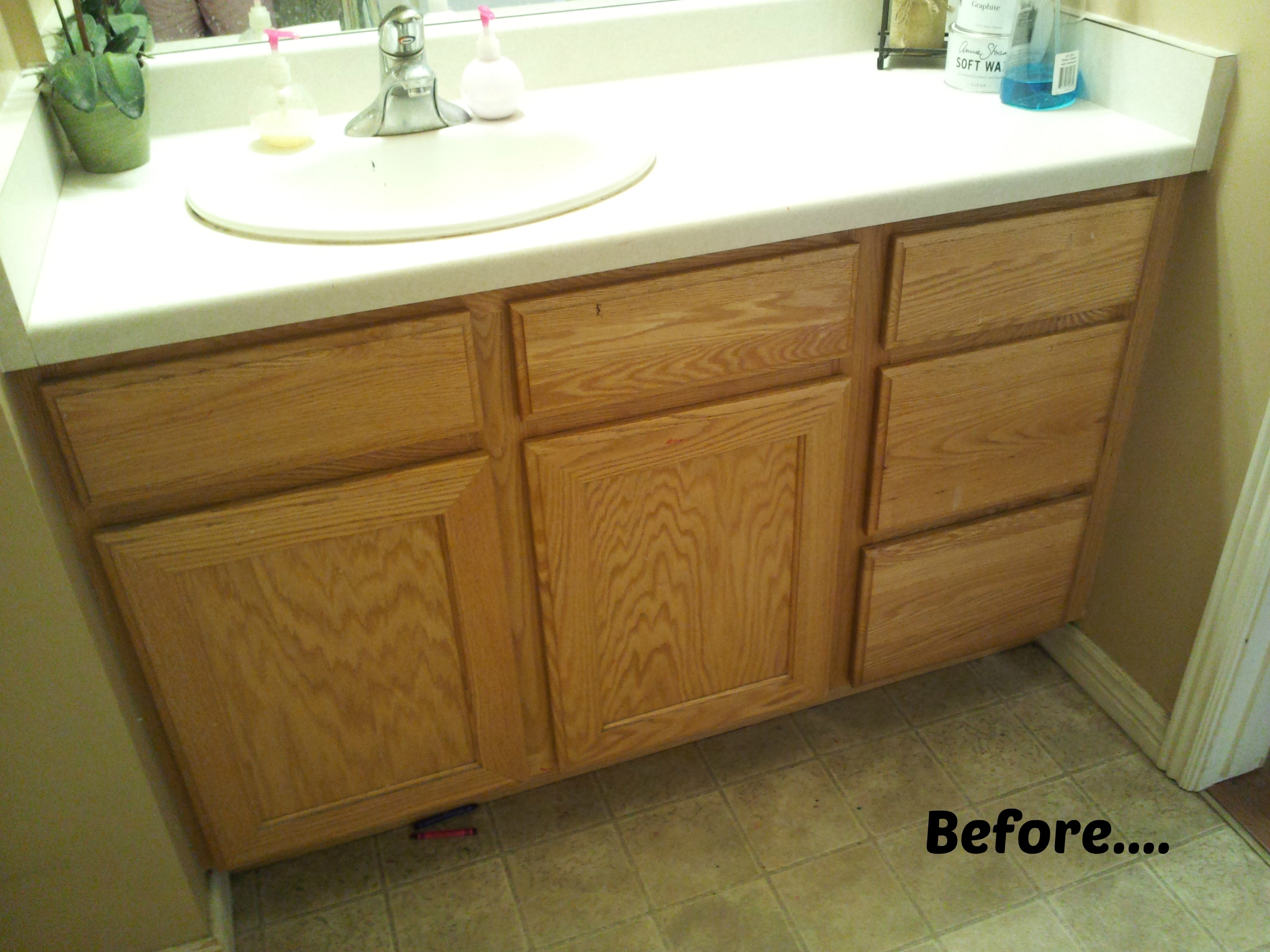Refinishing A Bathroom Vanity