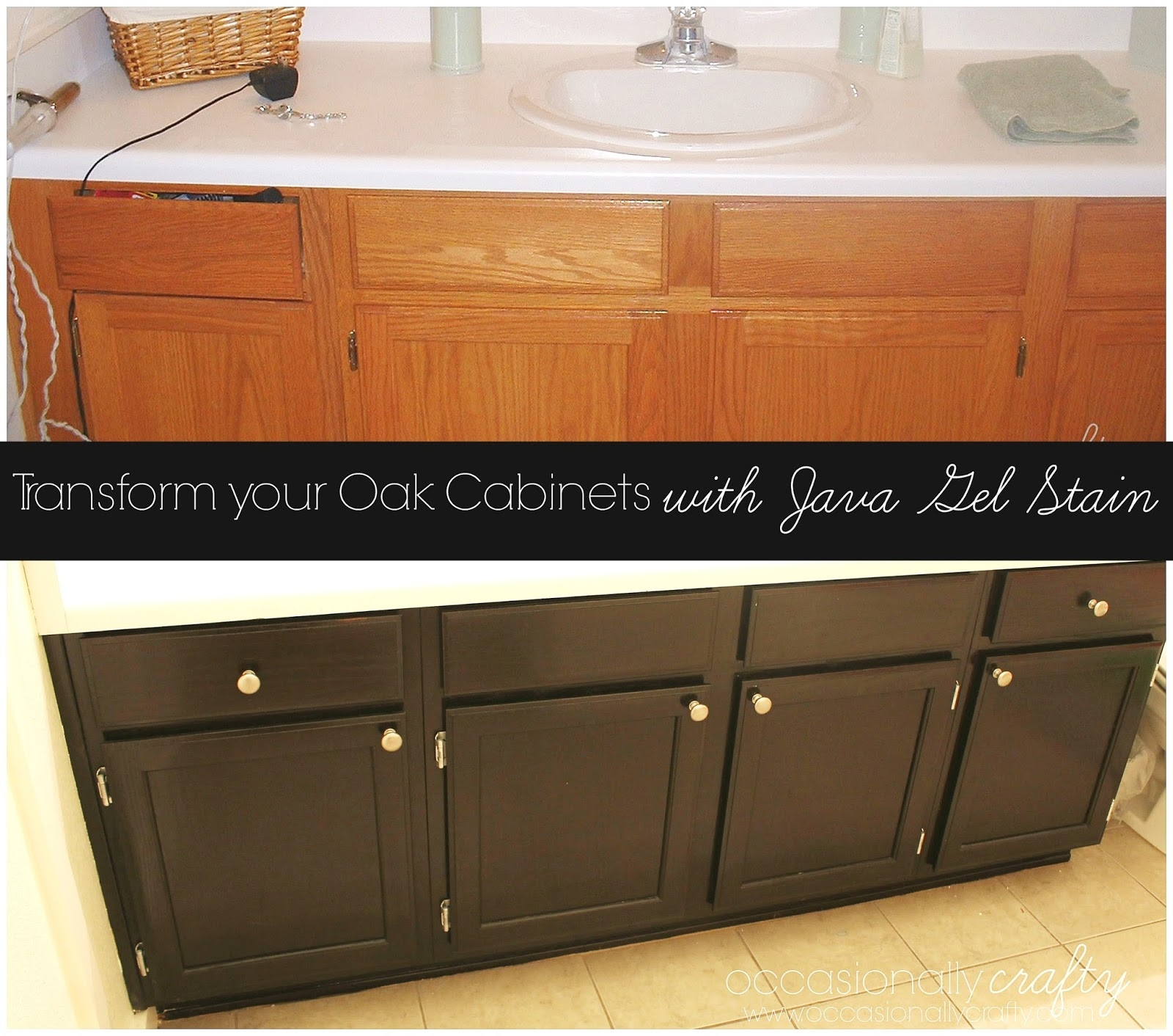 Permalink to Refinishing Bathroom Cabinets With Gel Stain