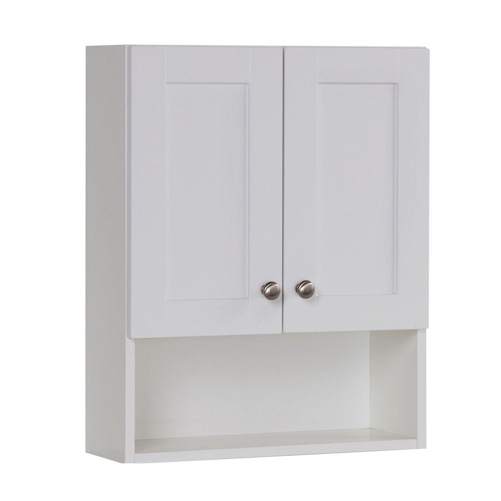 Shallow Bathroom Wall Cabinet