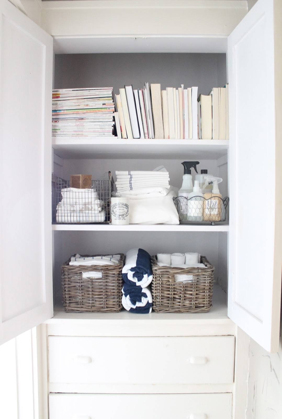 Small Bathroom Linen Storage Ideas