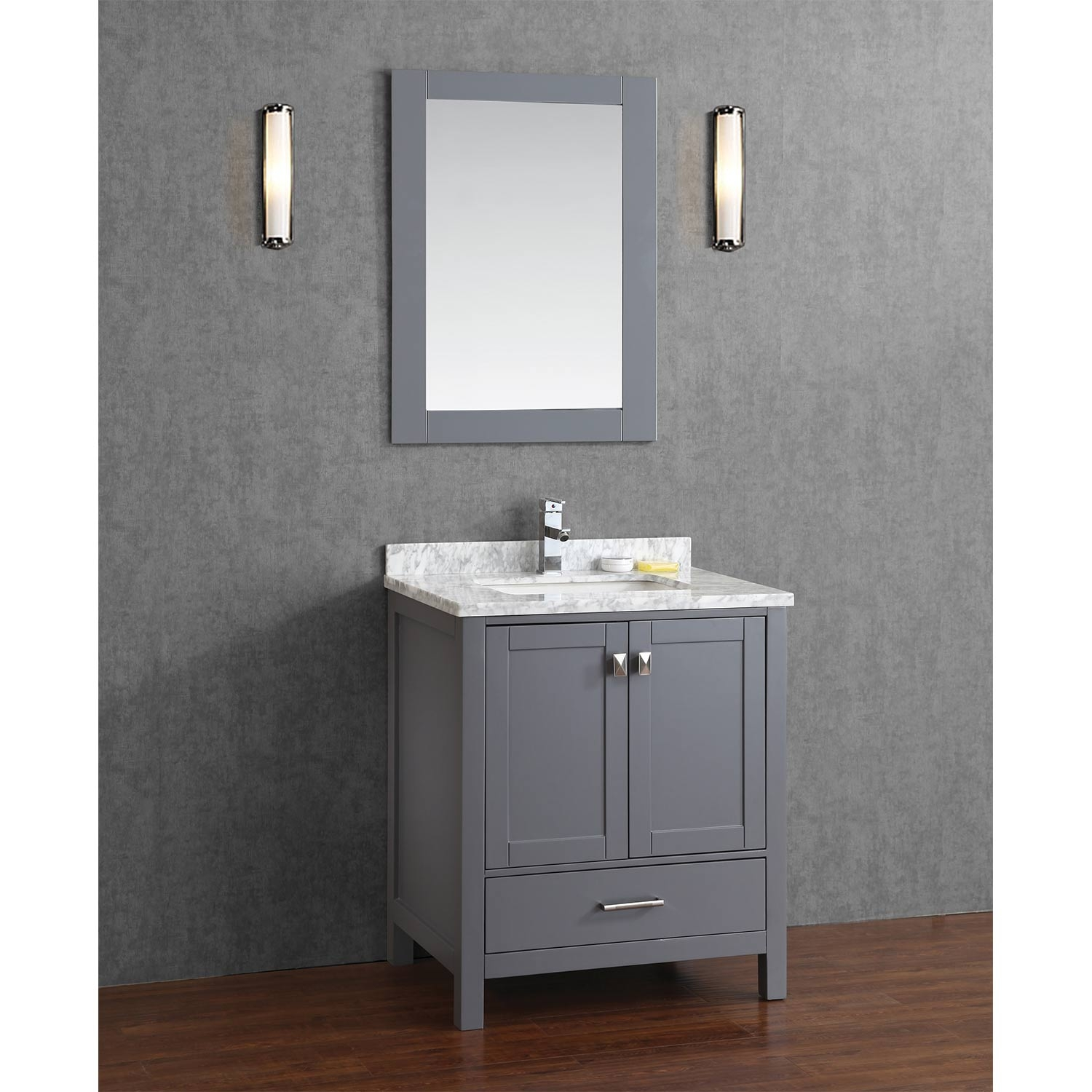 Solid Wood Bathroom Vanity 36