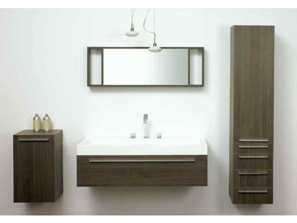 Wall Mounted Bathroom Sink And Cabinet