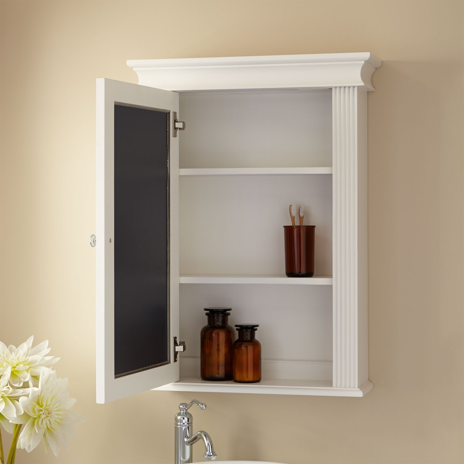 Permalink to Wooden Bathroom Cabinets Without Mirrors