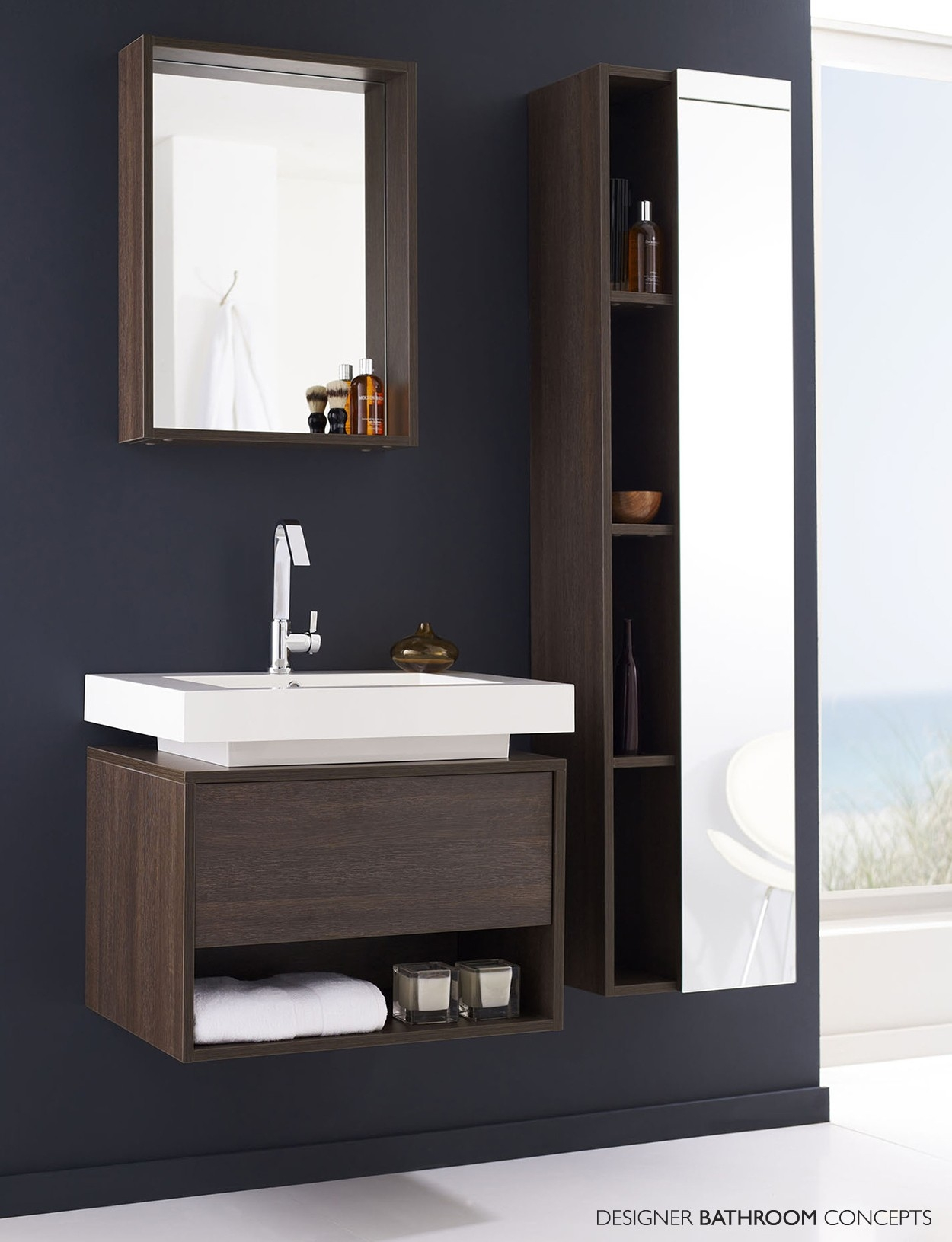 Wooden Cabinet Designs For Bathroom