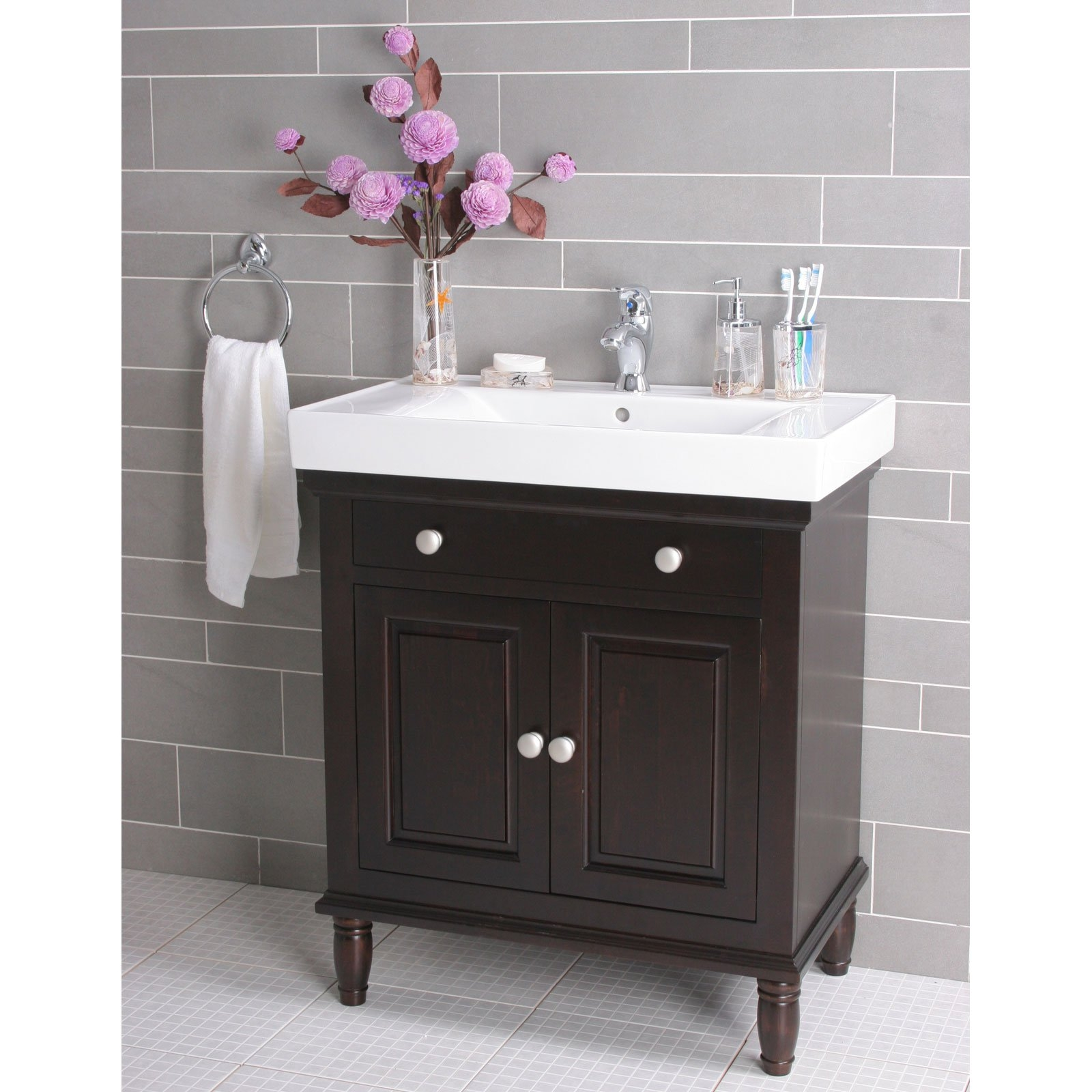 18 Depth Bathroom Vanity Cabinet